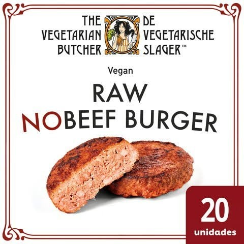 The Vegetarian Butcher Hambúrguer Premium Vegan congelado 2,26kg -
