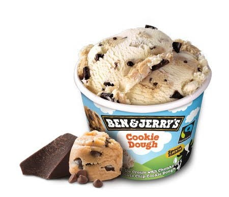 Ben & Jerry Cookie Dough -