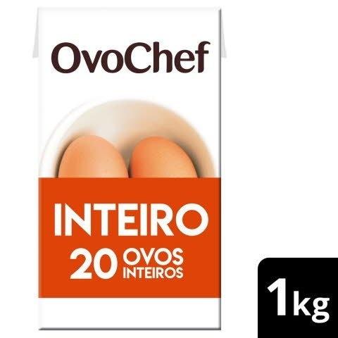 OvoChef ovo líquido pasteurizado Inteiro 1kg -