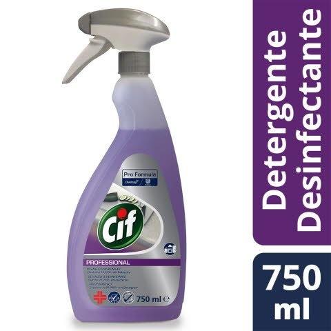 Cif 2 em 1 Detergente Desinfectante 6 x 750 ml -