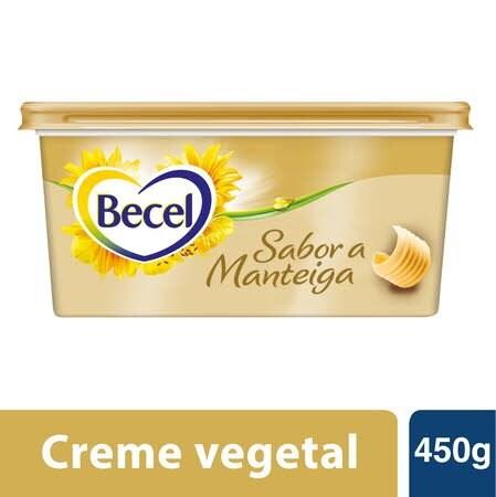 Becel creme vegetal para barrar Sabor a Manteiga 450gr -