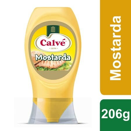 Calvé Mostarda Top Down 206Gr -