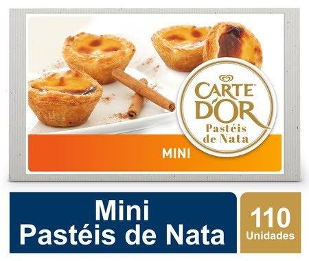 Carte D'Or Mini Pastéis de Nata congelados 30g -