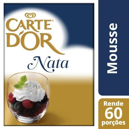 Carte D'Or mousse desidratada Sabor a Nata 600Gr -