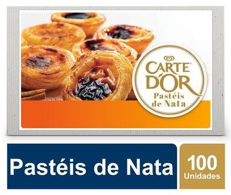 Carte D'Or Pastéis de Nata congelados 65Gr -