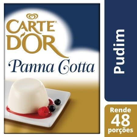 Carte D'Or pudim desidratado Panna Cotta 520Gr -