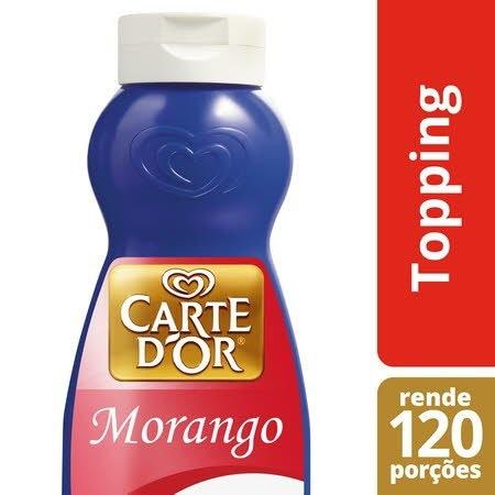 Carte D'Or topping líquido Morango 1Kg -