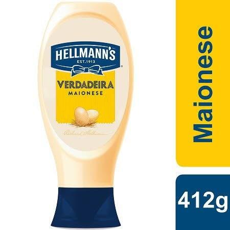 Hellmann's Maionese Top Down 412Gr -