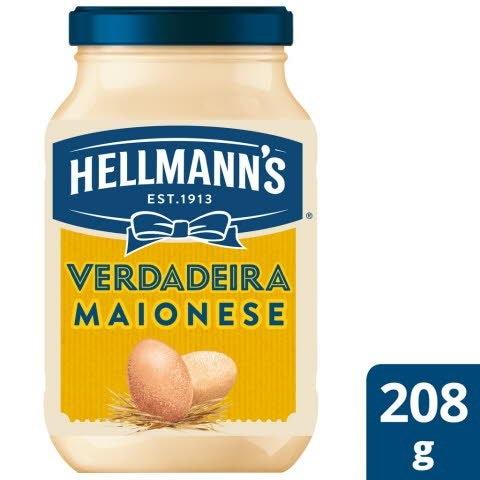 Hellmann's Maionese Vidro 208 Gr -