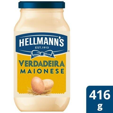 Hellmann's Maionese Vidro 416 Gr -