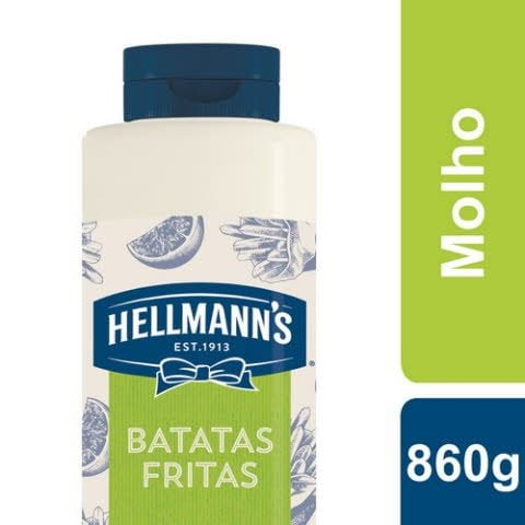 Hellmann's Molho Batatas 860 Gr -