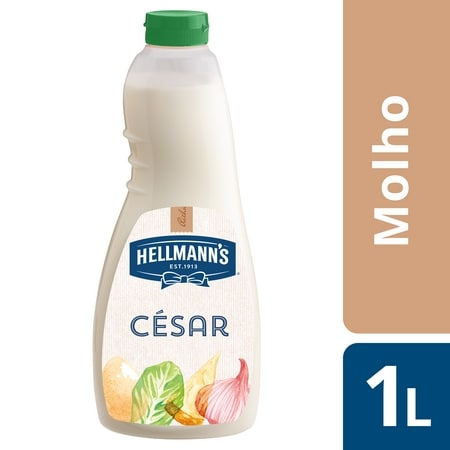 Hellmann's molho para saladas Cesar 1Lt -