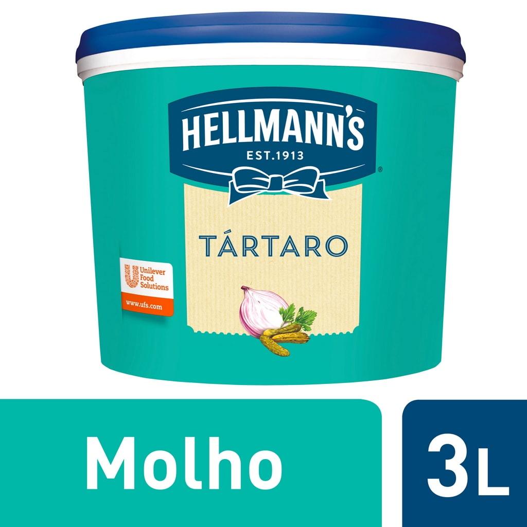 """Hellmann's molho Tártaro 3Lt - """"Preciso de um molho diferente e especial mas que seja prático."""""""
