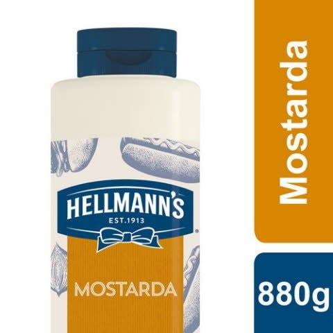 Hellmann's Mostarda 880 Gr -