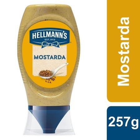 Hellmann's Mostarda Top Down 257Gr -