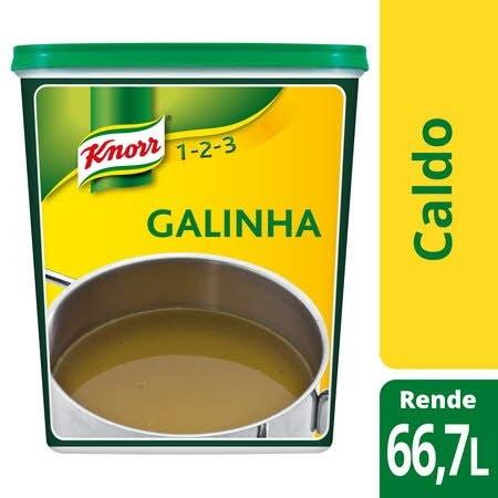 Knorr 1-2-3 caldo desidratado Galinha 1Kg -
