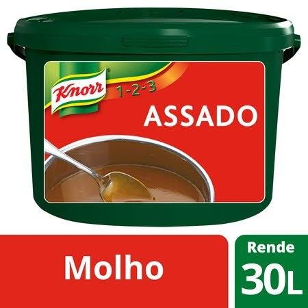 Knorr 1-2-3 molho desidratado Assado 3Kg -