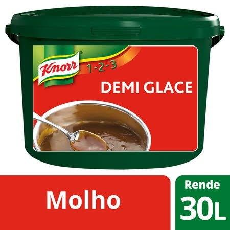Knorr 1-2-3 molho desidratado Demi Glace 3Kg -