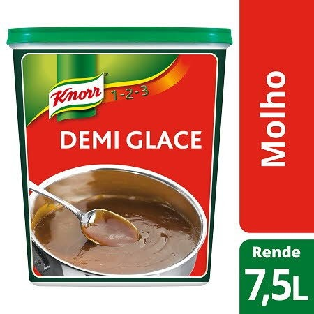 Knorr 1-2-3 molho desidratado Demi Glace 750Gr -