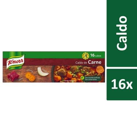 Knorr Caldo de Carne 16 Cubos -