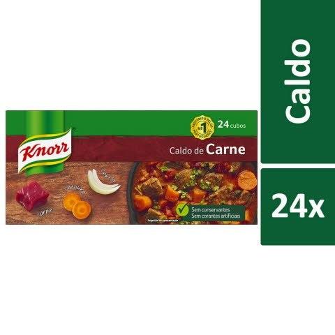 Knorr Caldo de Carne 24 Cubos -