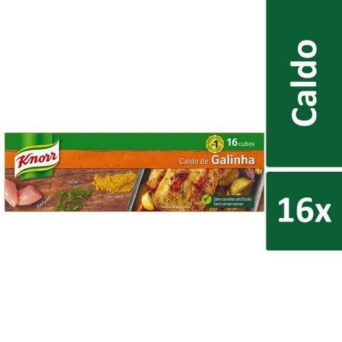 Knorr Caldo de Galinha 16 Cubos -