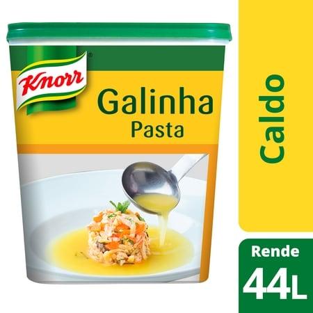 Knorr caldo pasta Galinha 1Kg - Knorr Caldo de Galinha é o preferido das cozinhas portuguesas. Sabor único, qualidade constante.