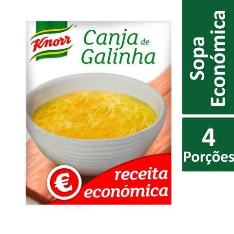 Knorr Canja de Galinha Receita Económica -