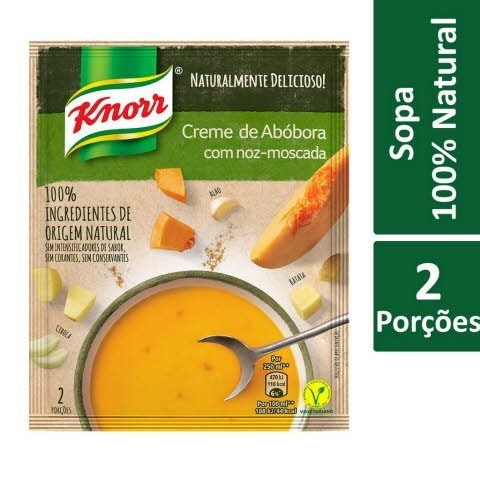 Knorr Creme de Abóbora com Noz-Moscada -