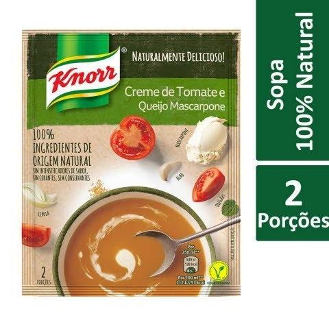 Knorr Creme de Tomate com Queijo Mascarpone -
