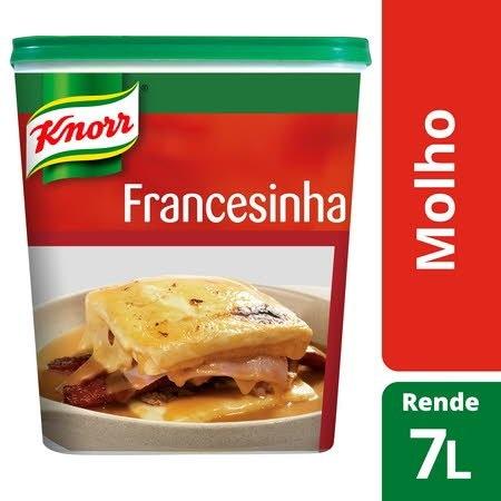 Knorr molho pasta Francesinha 721Gr -