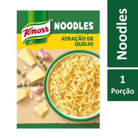 Knorr Noodles Atração de Queijo -