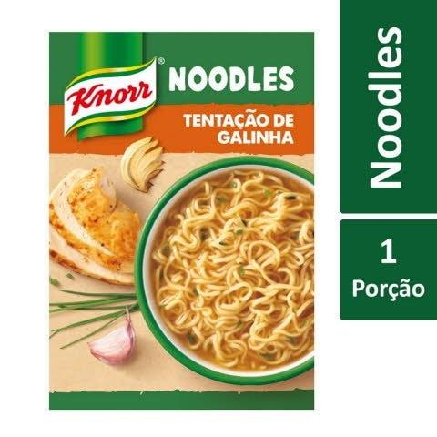 Knorr Noodles Tentação de Galinha -