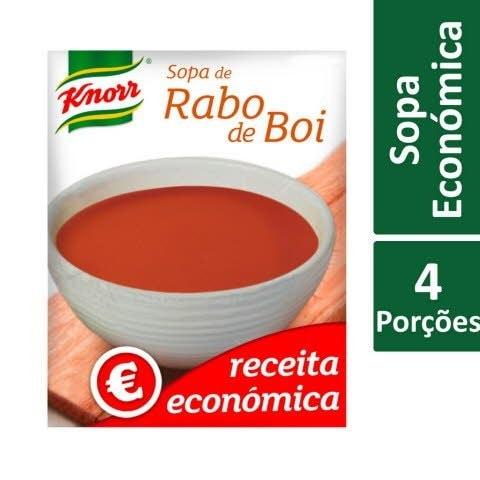 Knorr Sopa Rabo de Boi Receita Económica -