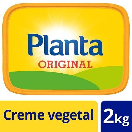 Planta creme vegetal para barrar 2Kg - Planta, o sabor tradicional e a textura ideal para barrar.