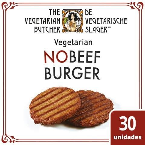 The Vegetarian Butcher Hambúrguer Vegetariano congelado 2,4Kg -