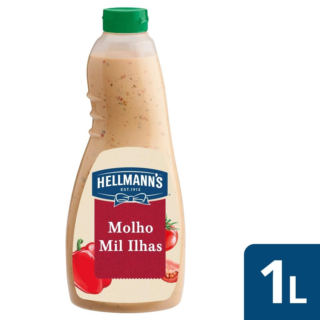 Hellmann's molho para saladas Mil Ilhas 1Lt