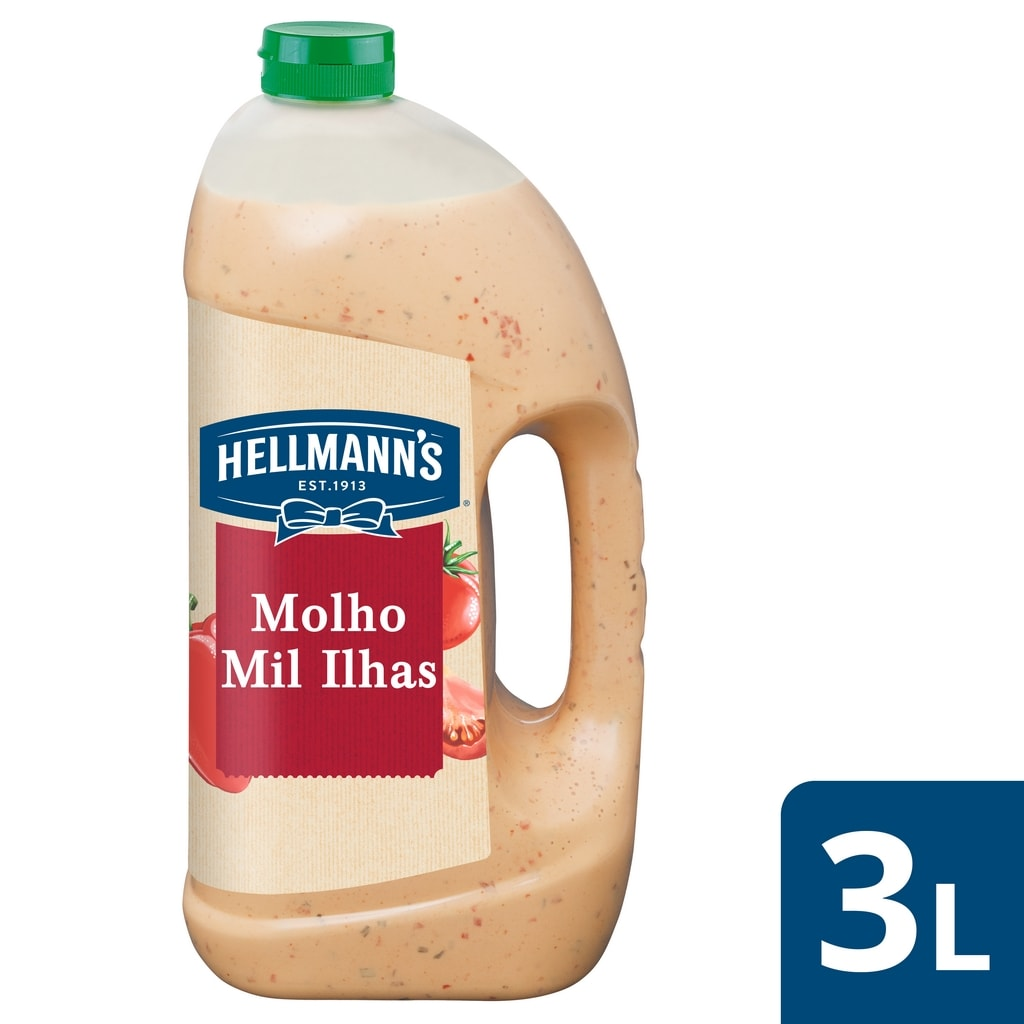Hellmann's molho para saladas Mil Ilhas 3Lt -