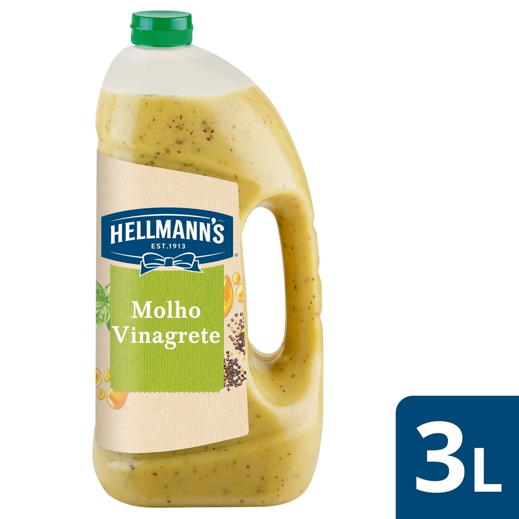 Hellmann's molho para saladas Vinagrete 3Lt